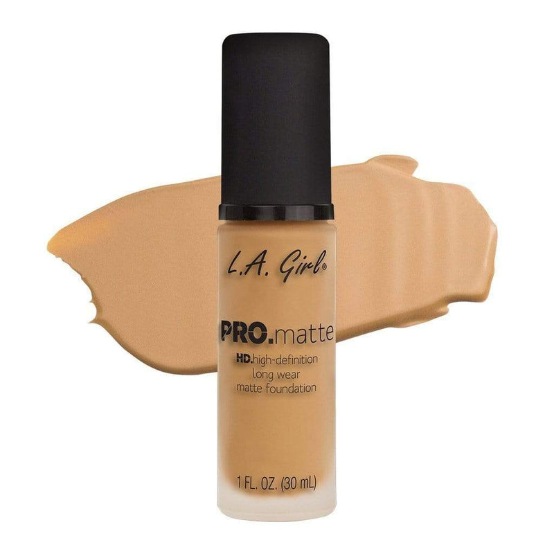 LA Girl Pro Matte Foundation - 674 Natural - cheap makeup, cosmetic & clearance sales at the LoveMy Makeup online store NZ