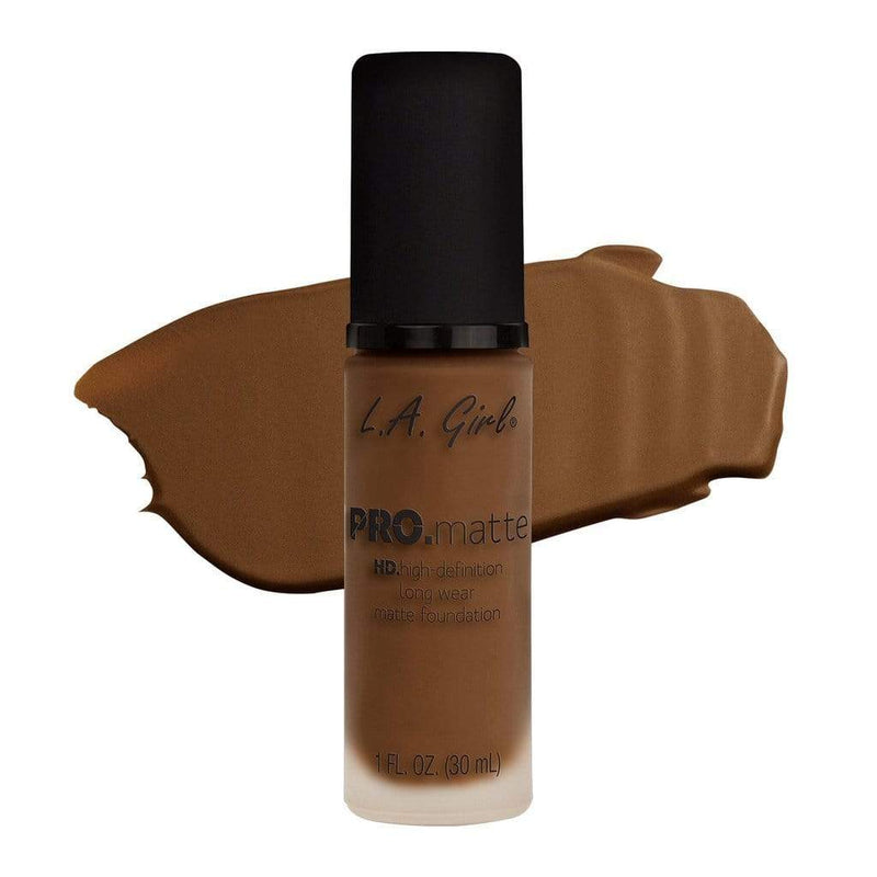 LA Girl Pro Matte Foundation - 684 Cappuccino - cheap makeup, cosmetic & clearance sales at the LoveMy Makeup online store NZ