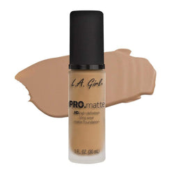 LA Girl Pro Matte Foundation - 718 Sandy Beige - cheap makeup, cosmetic & clearance sales at the LoveMy Makeup online store NZ