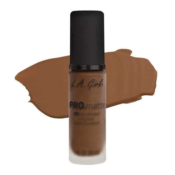 LA Girl Pro Matte Foundation - 720 Creamy Cocoa - cheap makeup, cosmetic & clearance sales at the LoveMy Makeup online store NZ