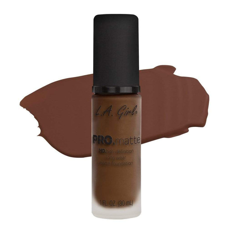 LA Girl Pro Matte Foundation - 722 Chestnut - cheap makeup, cosmetic & clearance sales at the LoveMy Makeup online store NZ
