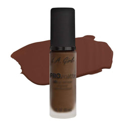 LA Girl Pro Matte Foundation - 723 Espresso - Still cant find your color, check out PRO.color foundation mixing pigments designed to be used with the PRO.matte foundation formula for infinite options and ultimate control.cheap makeup, cosmetic & clearance sales at the LoveMy Makeup online store NZ