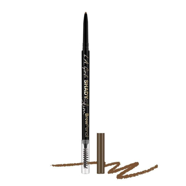 LA Girl Shady Slim Brow Pencil - 353 Soft Brown - cheap makeup, cosmetic & clearance sales at the LoveMy Makeup online store NZ