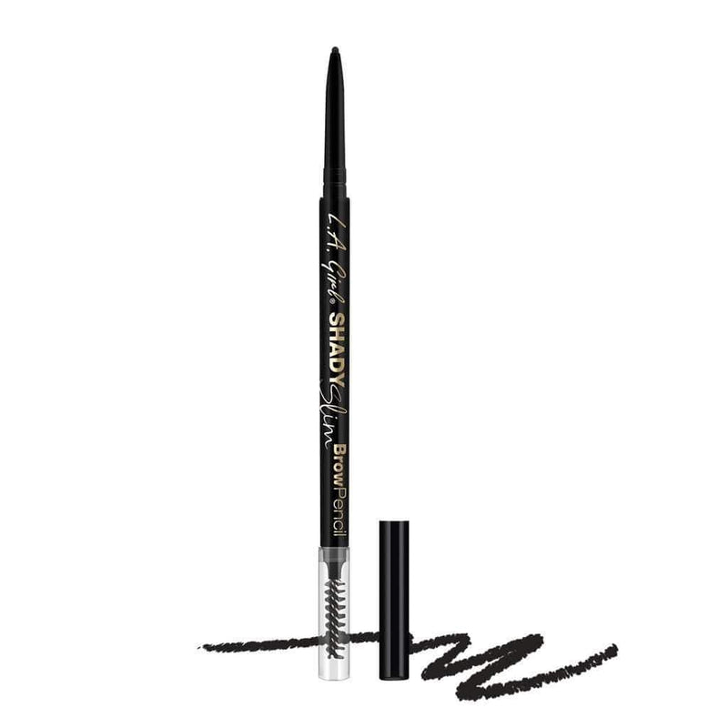 LA Girl Shady Slim Brow Pencil - 360 Black - cheap makeup, cosmetic & clearance sales at the LoveMy Makeup online store NZ