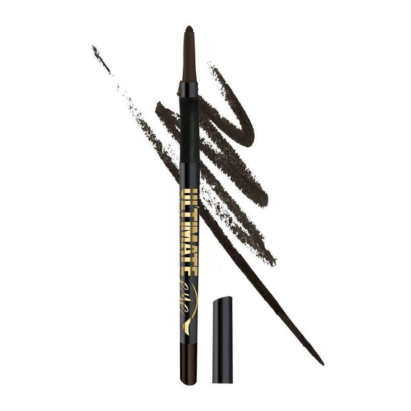 LA Girl Ultimate Auto Eyeliner Pencil - 323 Deepest Brown - cheap makeup, cosmetic & clearance sales at the LoveMy Makeup online store NZ