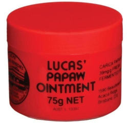 Lucas Papaw Ointment (Carica Papaya) 75g - cheap makeup, cosmetic & clearance sales at the LoveMy Makeup online store NZ