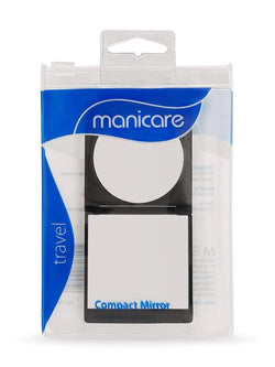 Manicare Compact Mirror - Perfect for retouching make-up on the run. Ideal size to fit in your cosmetic purse, handbag or gym bag. Mirror magnification is 2:1. This make up mirror is the e perfect size and convenient to keep in your purse or desk draw. Manicare Compact Mirror at LoveMy Makeup NZ
