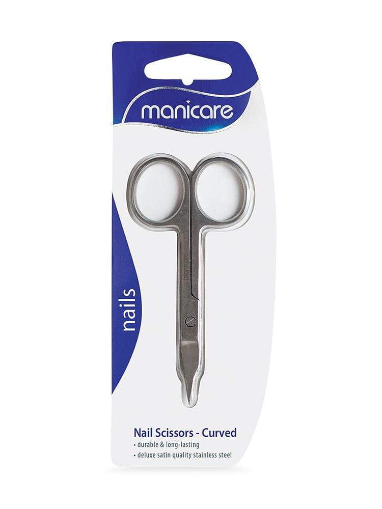 Manicare Curved Nail Scissors - cheap makeup, cosmetic & clearance sales at the LoveMy Makeup online store NZ