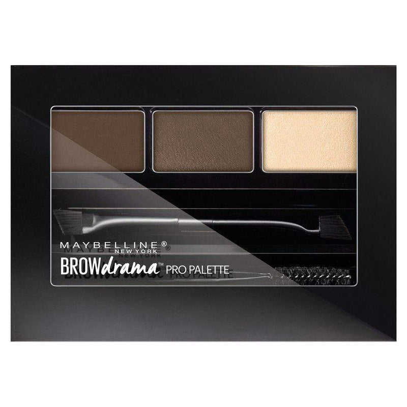 Maybelline Brow Drama Pro Brow Palette - 260 Deep Brown - cheap makeup, cosmetic & clearance sales at the LoveMy Makeup online store NZ