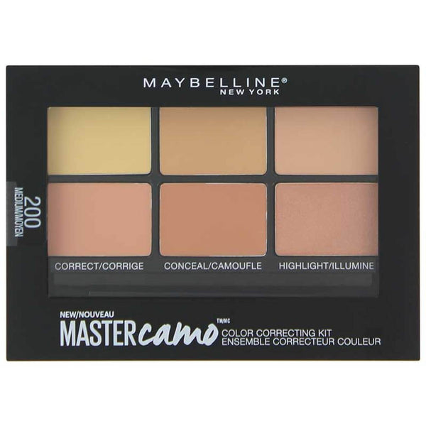 Maybelline Mastercamo Concealer Correcting Kit - 200 Medium - cheap makeup, cosmetic & clearance sales at the LoveMy Makeup online store NZ