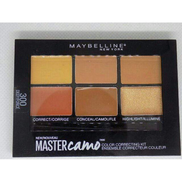 Maybelline Mastercamo Concealer Correcting Kit - 300 Deep - cheap makeup, cosmetic & clearance sales at the LoveMy Makeup online store NZ