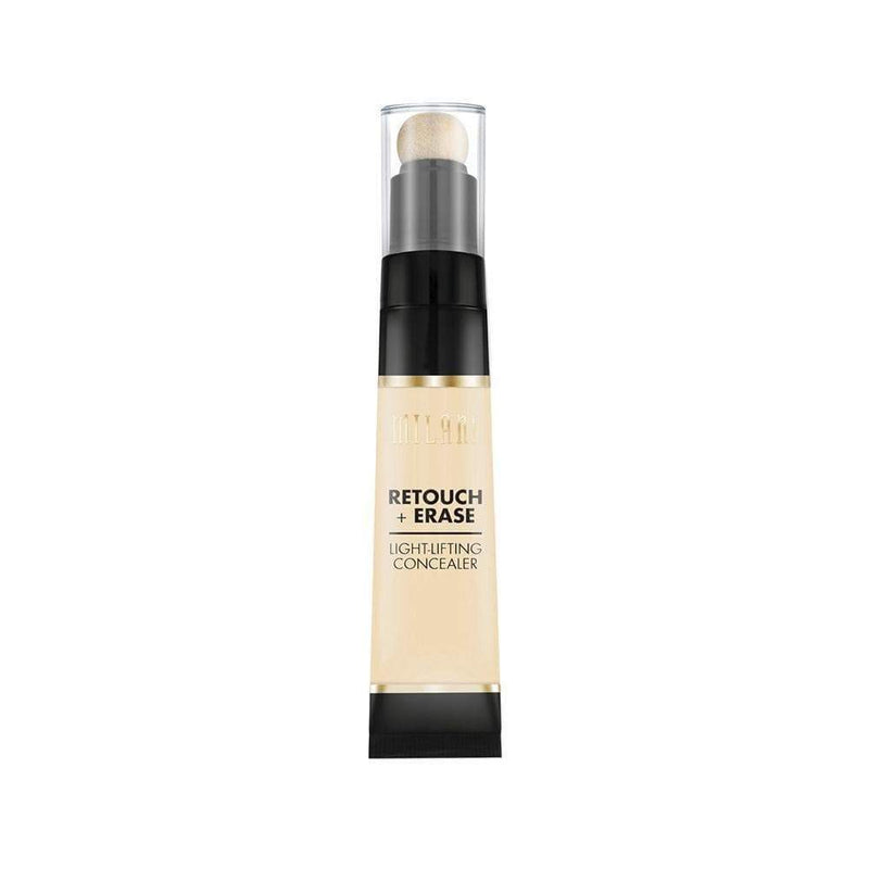 Milani Retouch + Erase Light Lifting Concealer (01 Fair) - Retouch + Erase Light-Lifting Concealer instantly erases the look of dark circles, spots, blemishes and imperfections with an added face brightening effect. Milani Concealer at LoveMy Makeup NZ