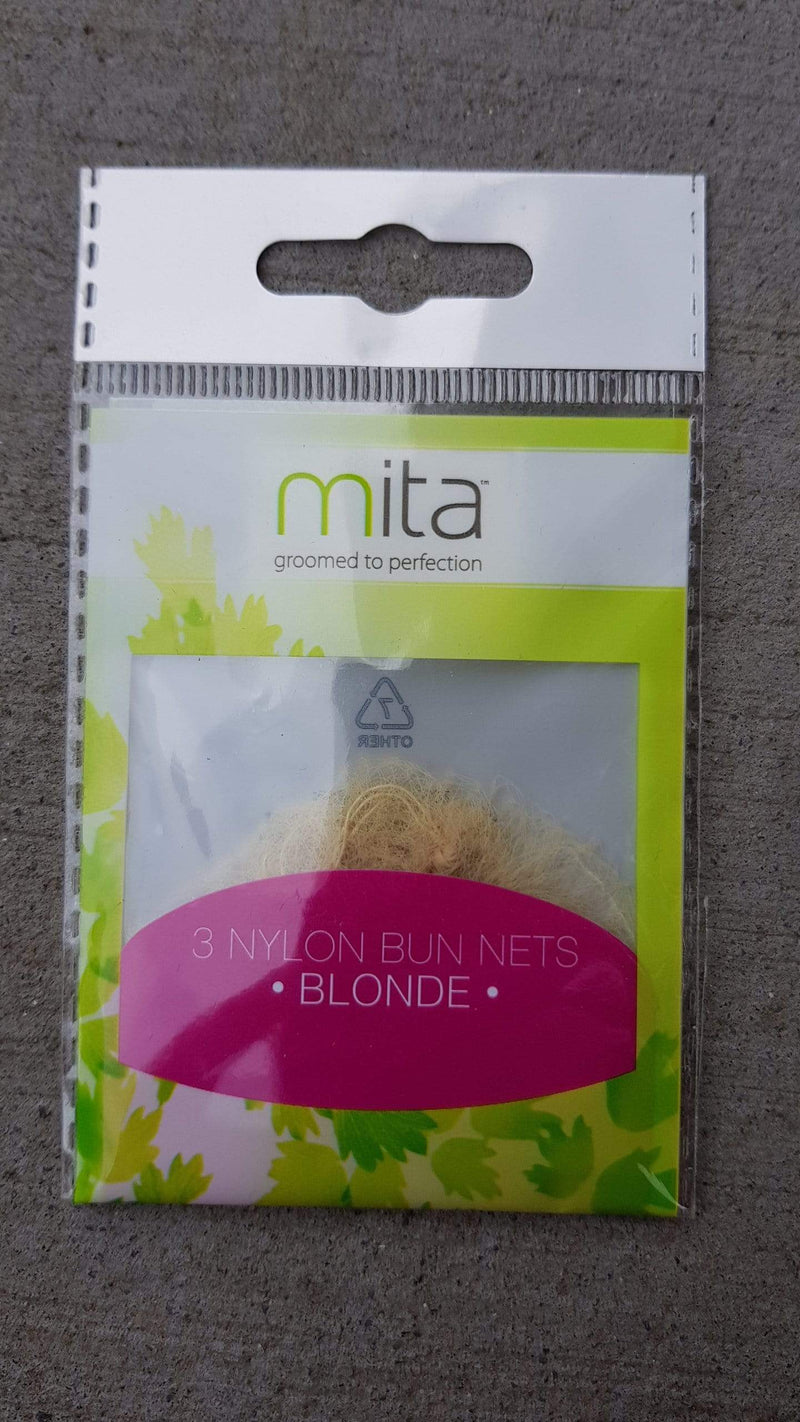 Mita Hair Net - Blonde 3pk *** - cheap makeup, cosmetic & clearance sales at the LoveMy Makeup online store NZ