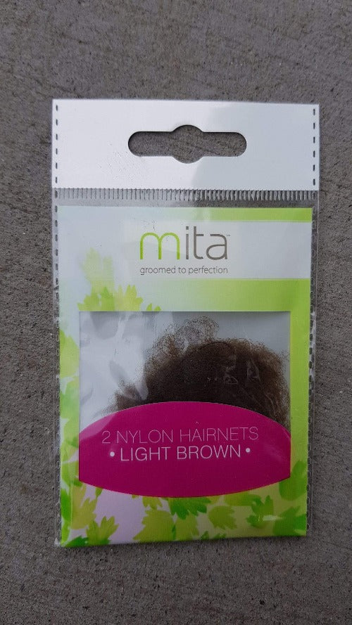 Mita Hair Net - Light Brown 2pk *** - cheap makeup, cosmetic & clearance sales at the LoveMy Makeup online store NZ