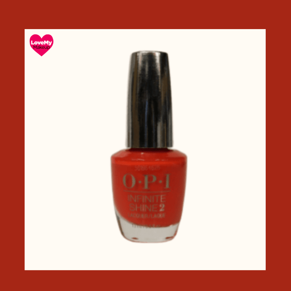 OPI Infinite Shine (No Stopping Me Now) - Pull out all the stops for this go-getter coral long-wear nail polish. OPI Infinite Shine Nail Polish at LoveMy Makeup Nz