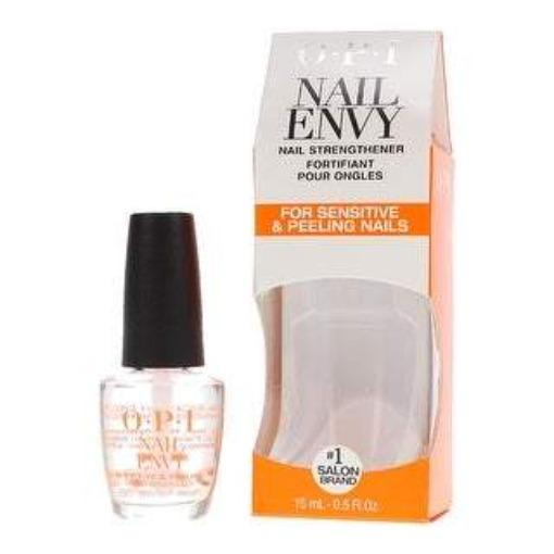 OPI Nail Envy (Sensitive & Peeling 15 ml) - Nail Envy Nail Strengthener for Sensitive & Peeling Nails by OPI features a strengthening formula with vitamin E and kukui nut oil that helps soothe and protect nails against peeling. Formaldehyde-free. OPI Nail Treatments at Lovemy Makeup NZ