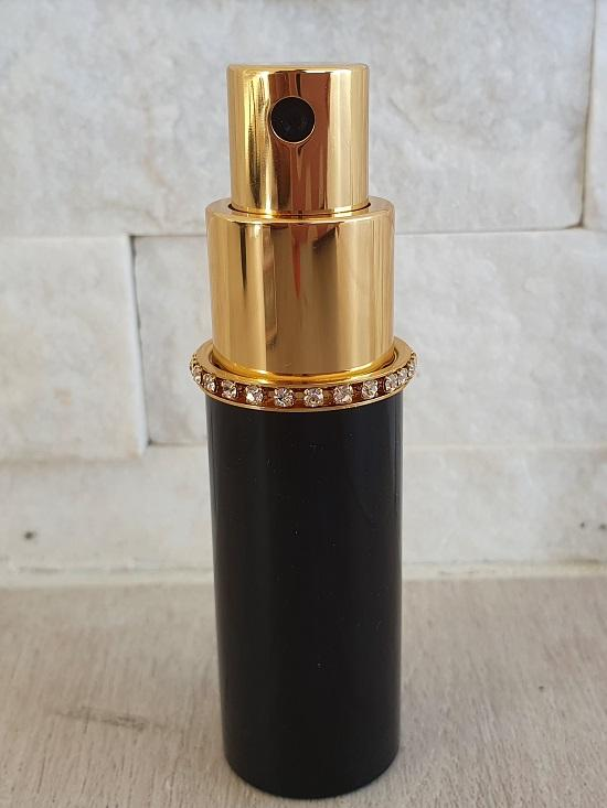 Oskar Fragrance Atomiser Travel Black Diamante -  Simply  put in your favourite fragrance. Perfect for your handbag. Oskar Fragrance Atomiser Travel Black Diamante at LoveMy Makeup NZ