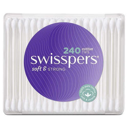 Swisspers Cotton Tips 240s - cheap makeup, cosmetic & clearance sales at the LoveMy Makeup online store NZ