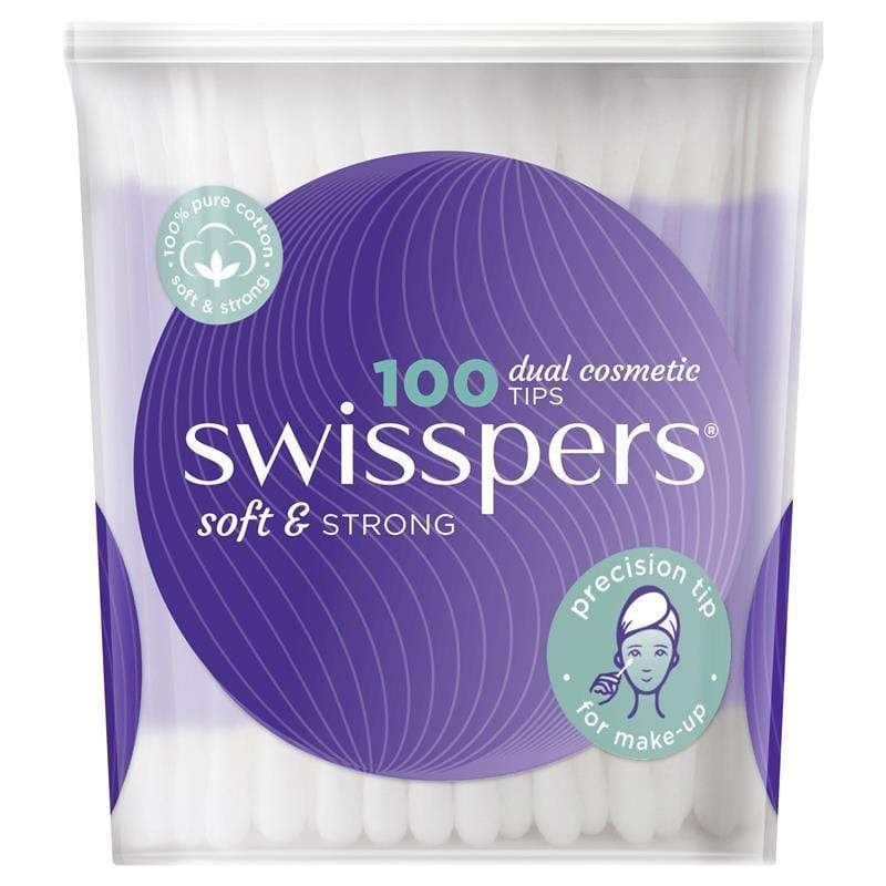 Swisspers Dual Cosmetic Tips 100 - cheap makeup, cosmetic & clearance sales at the LoveMy Makeup online store NZ