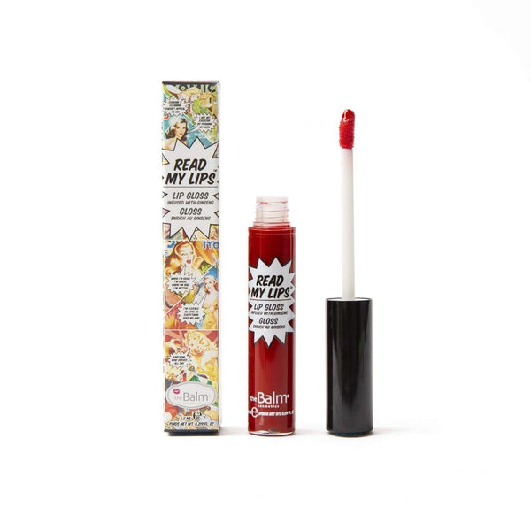 The Balm Read My Lips Lipgloss - WOW - cheap makeup, cosmetic & clearance sales at the LoveMy Makeup online store NZ