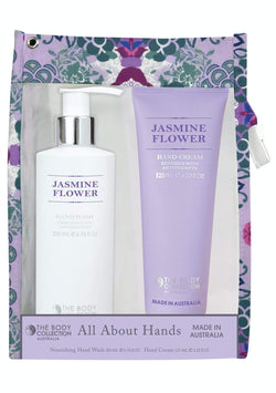 The Body Collection All About Hands set (Jasmine Flower) - cheap makeup, cosmetic & clearance sales at the LoveMy Makeup online store NZ