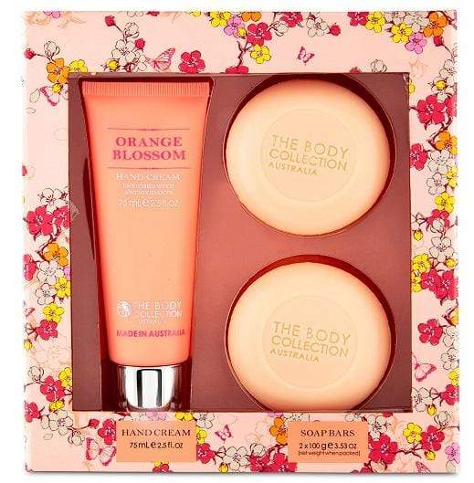 The Body Collection Hand Gift Pack (Orange Blossom) - cheap makeup, cosmetic & clearance sales at the LoveMy Makeup online store NZ