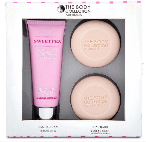 The Body Collection Hand Gift Pack (Sweet Pea)