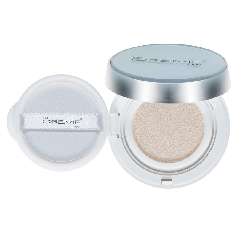 The Creme Shop Ready. Set. Glow Cushion Highlighter Shade Rose Gold Glow - cheap makeup, cosmetic & clearance sales at the LoveMy Makeup online store NZ