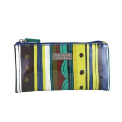 Wicked Sista Zesty Stripe Small Flat Makeup Bag / Purse - cheap makeup, cosmetic & clearance sales at the LoveMy Makeup online store NZ
