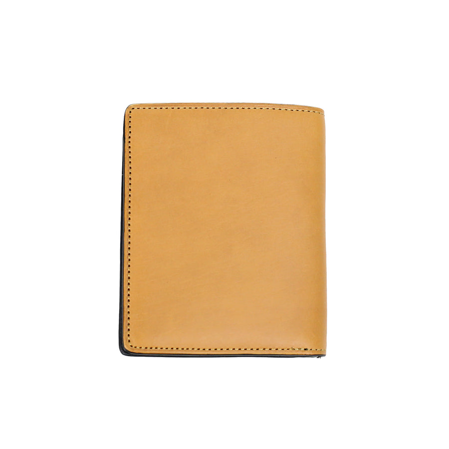 slim M wallet /Tan
