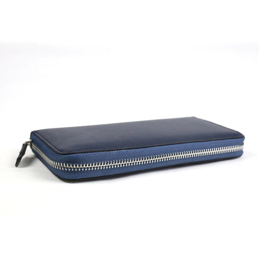 W zip wallet /Navy blue