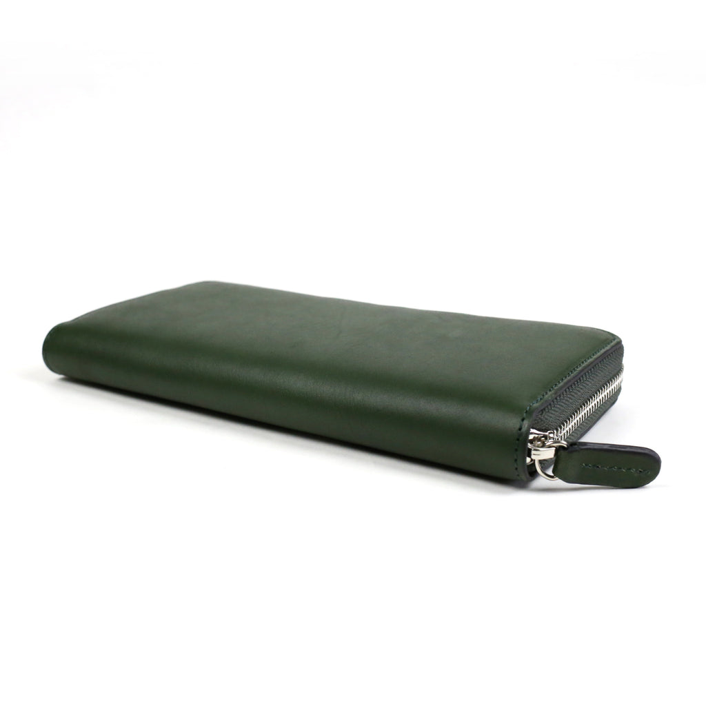 W zip wallet /Green