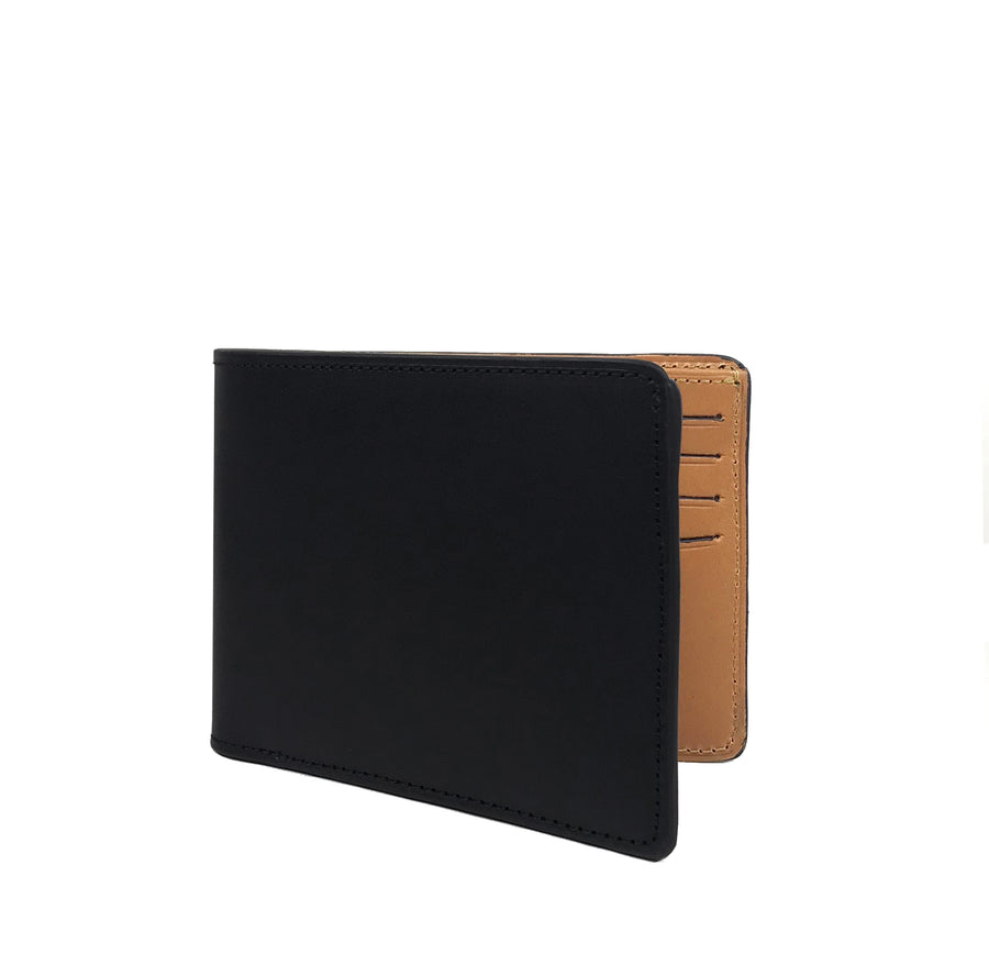 Man-wallet-bifold-leather-sleeveless-garden