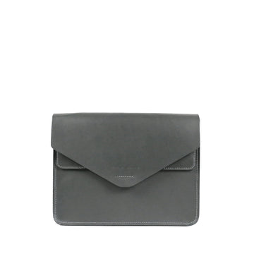 Futo-envelope-leather-bag-sleeveless-garden