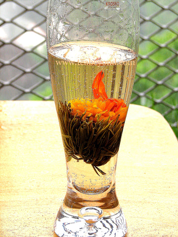 how to make flowering tea cocktail ideas