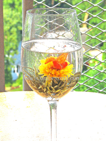 how to make flowering tea cocktail tea recipe