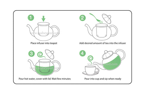 Tea 101 How to use teapot step by step
