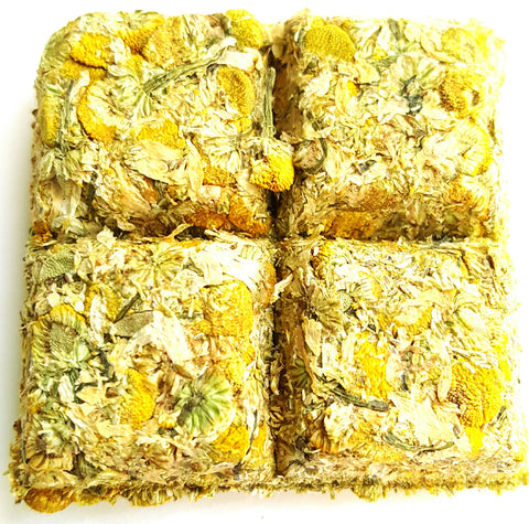Caffeine Free Natural Chamomile In Tea Bricks 120 grams
