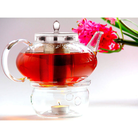 teapot infuser harmony tea warmer set