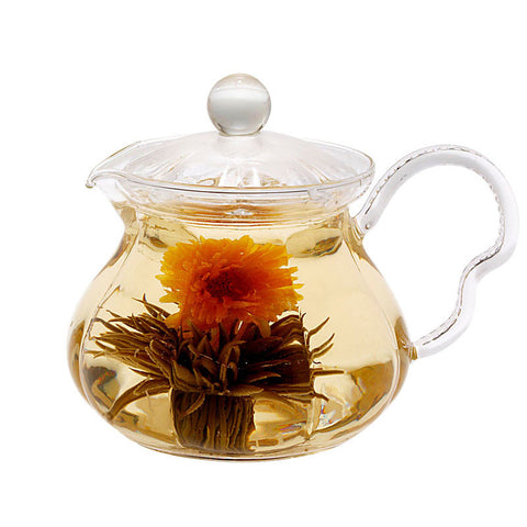 Gourmet Gift Teapot Fairy 20 oz and Blooming Tea 4 Cts