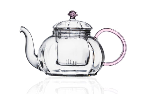 Tea Set Teapot Juliet 20 oz and Cup Saucer Set Of 2