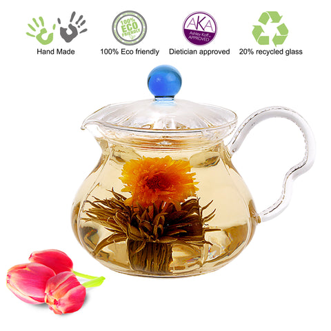 Teapot Fairy 20 oz / 590 ml Non Drip Lead Free