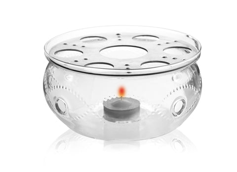 Tea Beyond glass tea warmer Wave