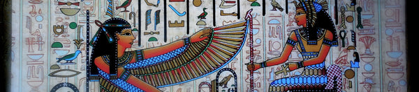 Ancient Egyptian Papyrus Paintings