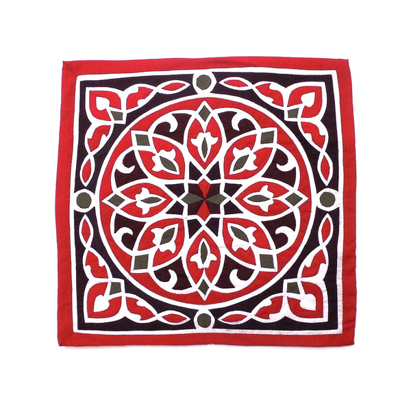 Ramadan Nights | Applique Art Wall Hanging Handstitched Egyptian Khayamiya