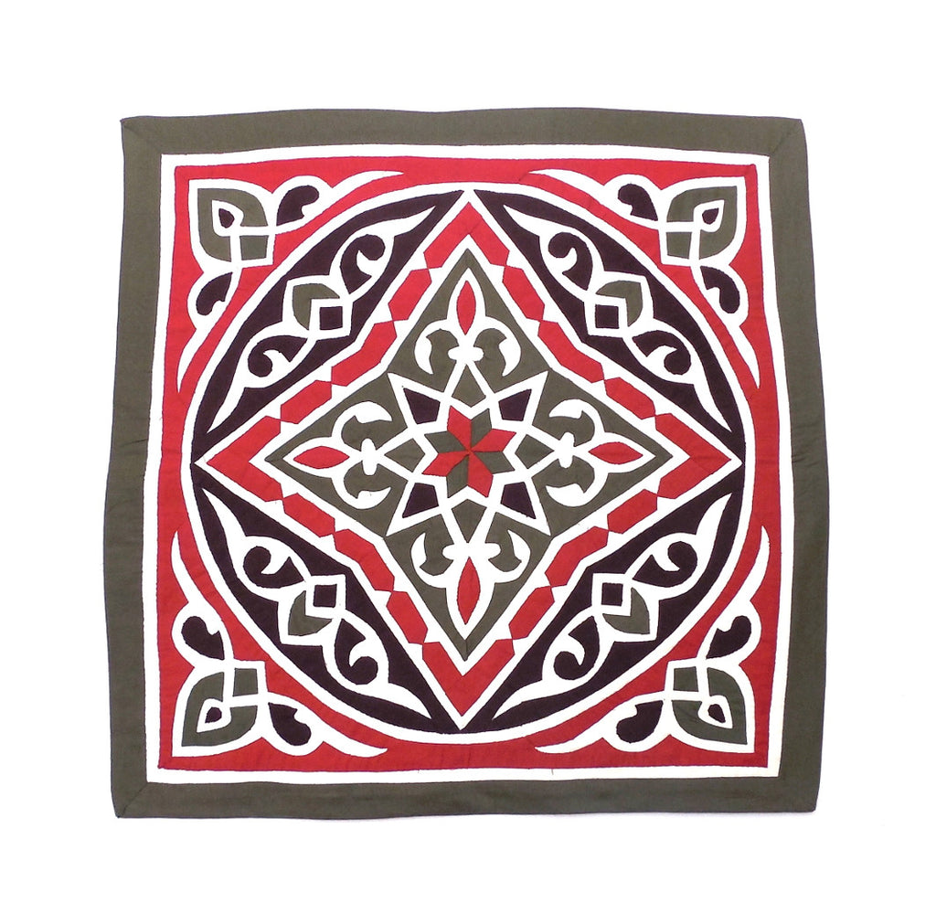 Ramadan Nights III | Applique Art Wall Hanging Handstitched Egyptian Khayamiya - Arkan Gallery  - 1