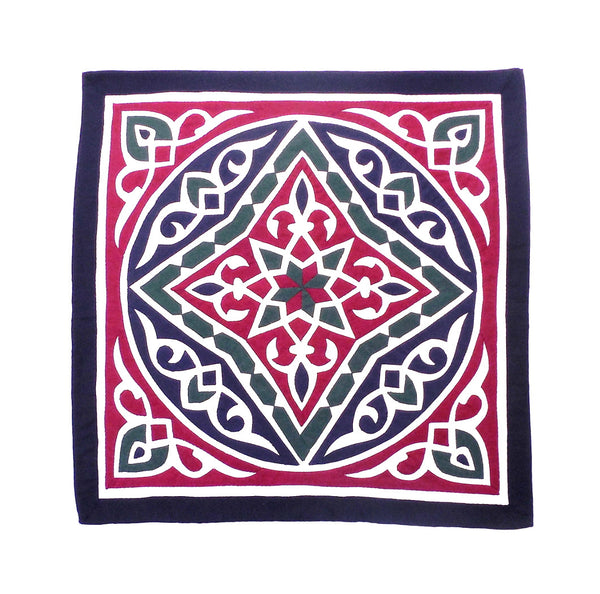 Ramadan Nights IV | Applique Art Wall Hanging Handstitched Egyptian Khayamiya - Arkan Gallery  - 1
