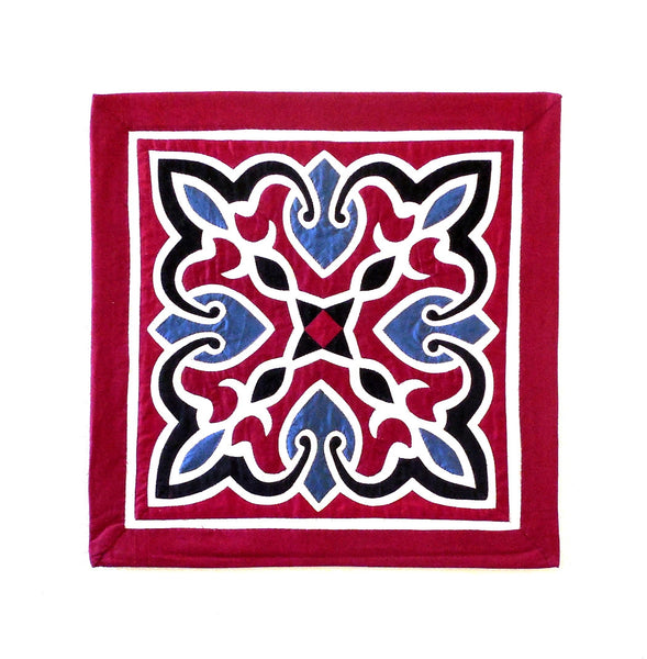 Arabesque | Applique Art Wall Hanging Handstitched Egyptian Khayamiya - Arkan Gallery  - 1