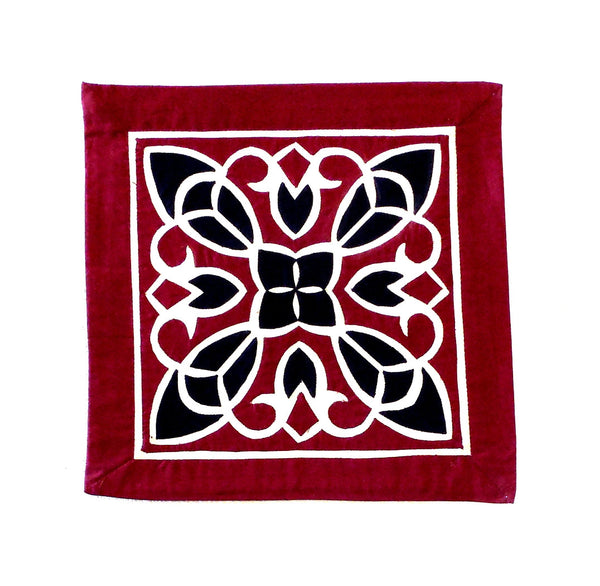 Arabesque II | Applique Art Wall Hanging Handstitched Egyptian Khayamiya - Arkan Gallery  - 1