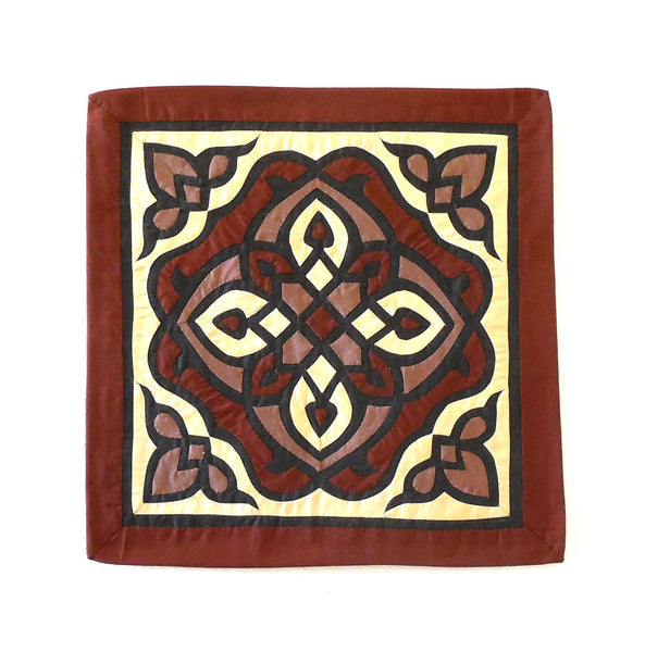 Arabesque III | Applique Art Wall Hanging Handstitched Egyptian Khayamiya - Arkan Gallery  - 1